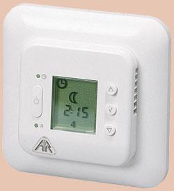 thermostat mit display oder zeitschaltuhr f r den innenbereich. Black Bedroom Furniture Sets. Home Design Ideas