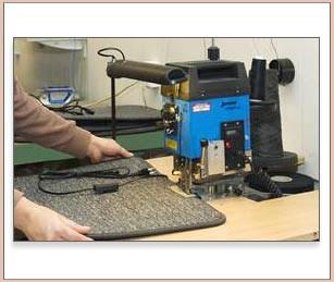 Produktion Fußbodenheizung